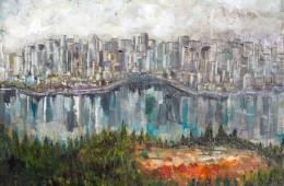 """""""Vancouver"""" – Encaustic"""